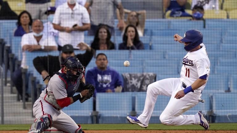 Nationals Dodgers Baseball