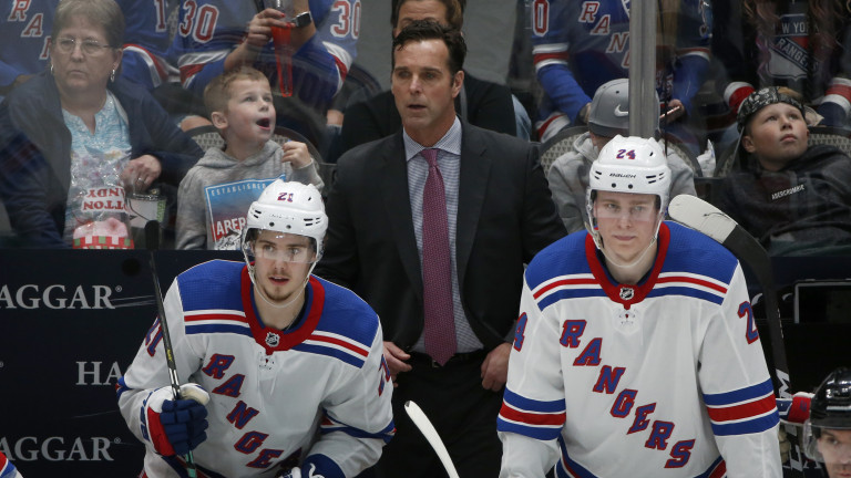 Rangers Quinn Fired Hockey