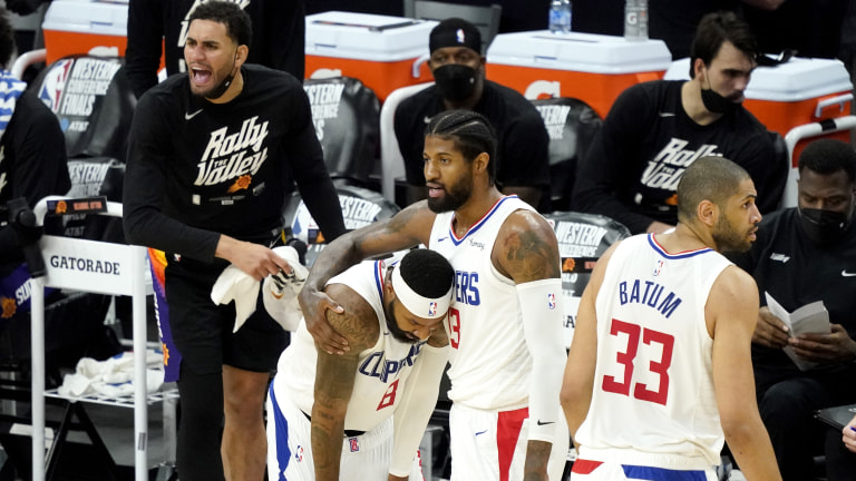 Clippers Suns Basketball
