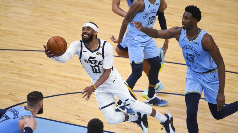 Jazz Grizzlies Basketball