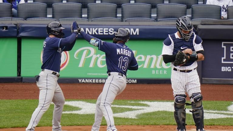 Rays Yankees Baseball