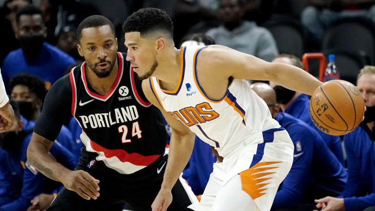 Trail Blazers Suns Basketball