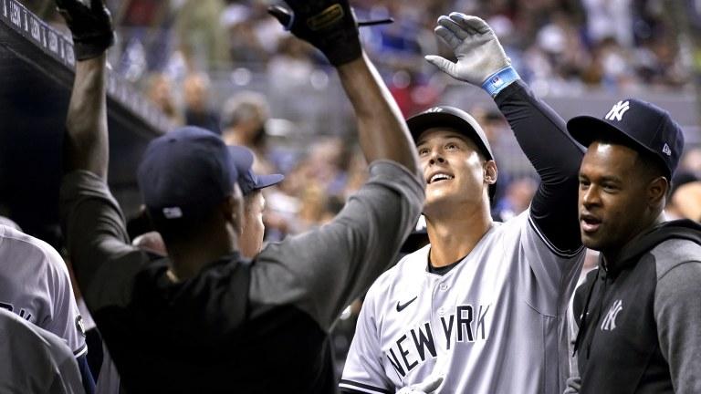 Yankees Marlins Baseball