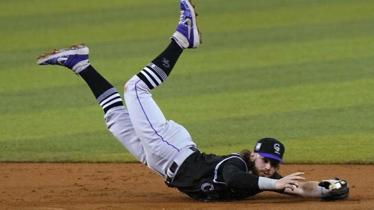 APTOPIX Rockies Marlins Baseball
