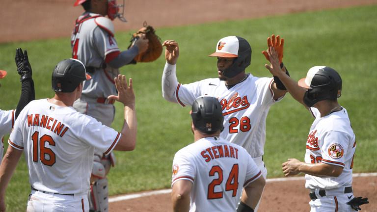 Angels Orioles Baseball