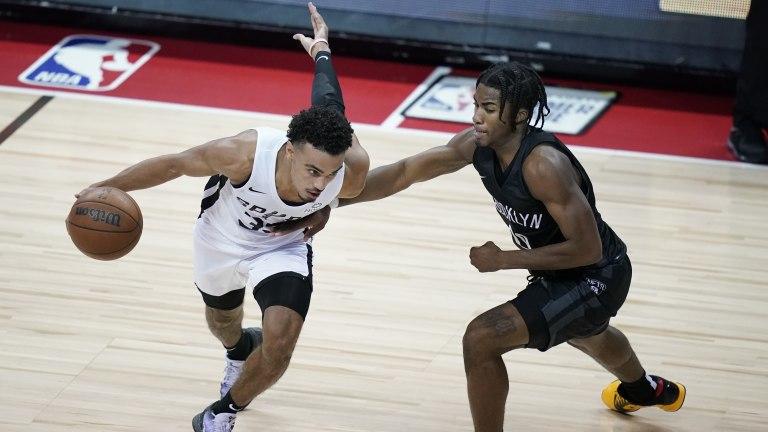 Nets Spurs Basketball