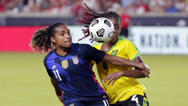 USWNT Jamaica Soccer