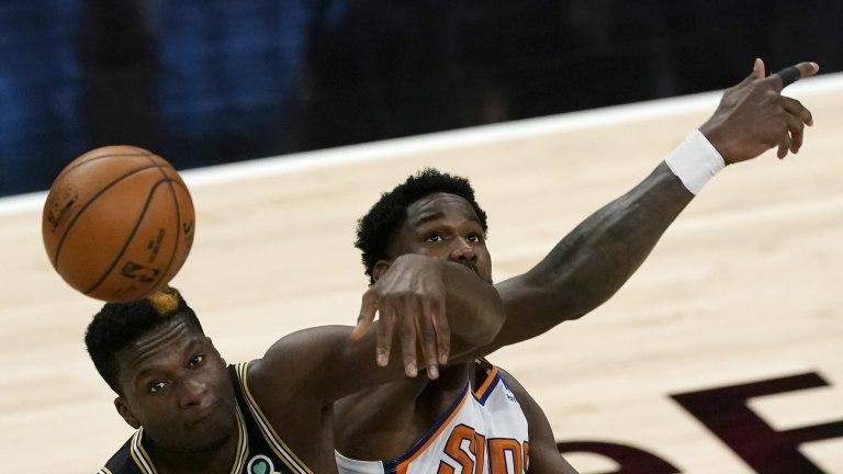Suns Hawks Basketball