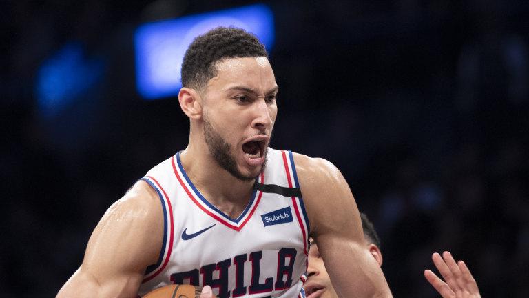 76ers Unhappy Simmons Basketball