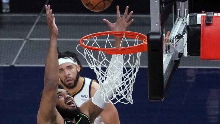 Nuggets Timberwolves Basketball