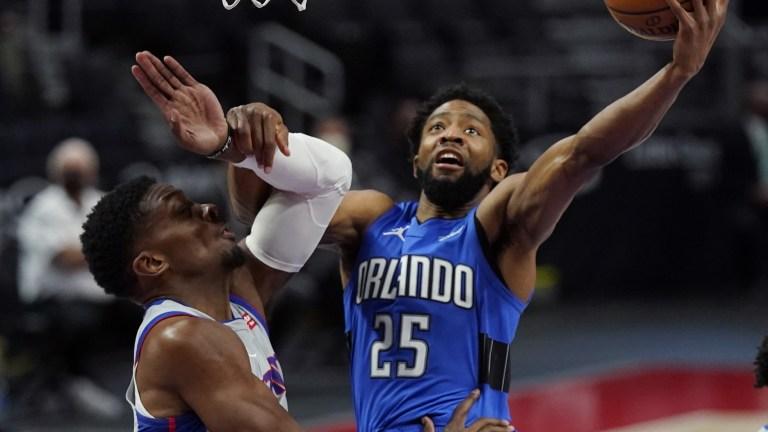 Magic Pistons Basketball