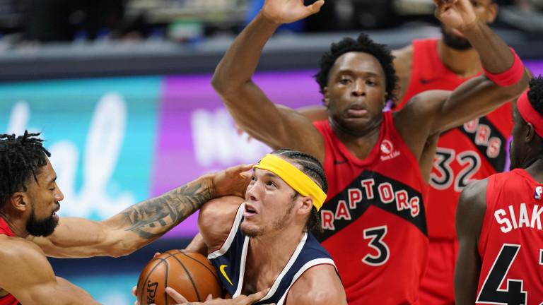 Raptors Nuggets Basketball