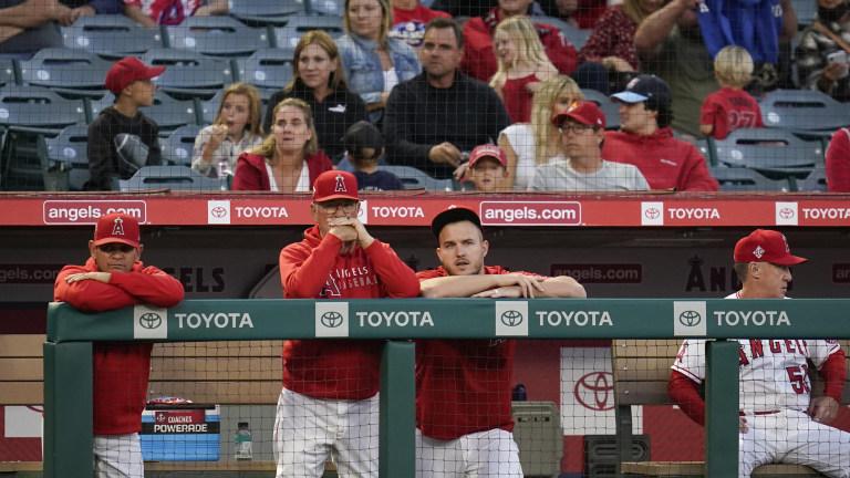 Athletics Angels Baseball