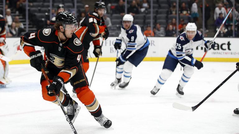 Jets Ducks Hockey