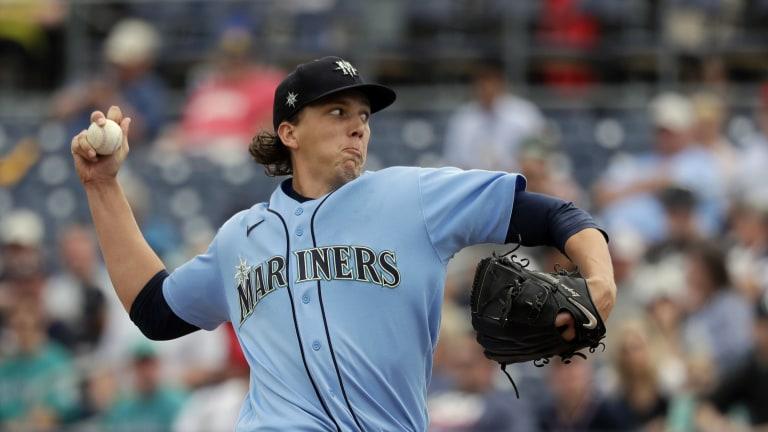 Mariners Kelenic Gilbert Baseball