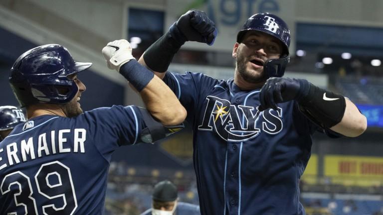 APTOPIX Tigers Rays Baseball