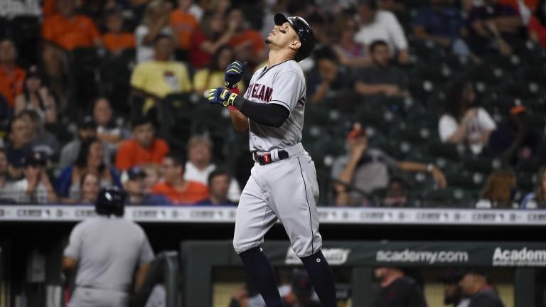 Indians Astros Baseball