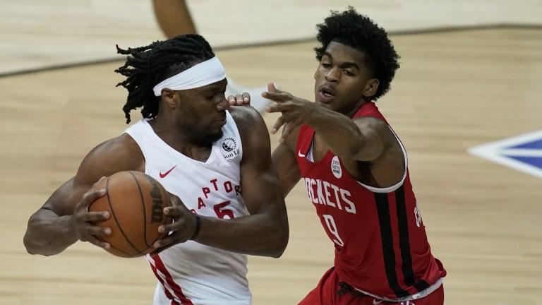 Rockets Raptors Basketball