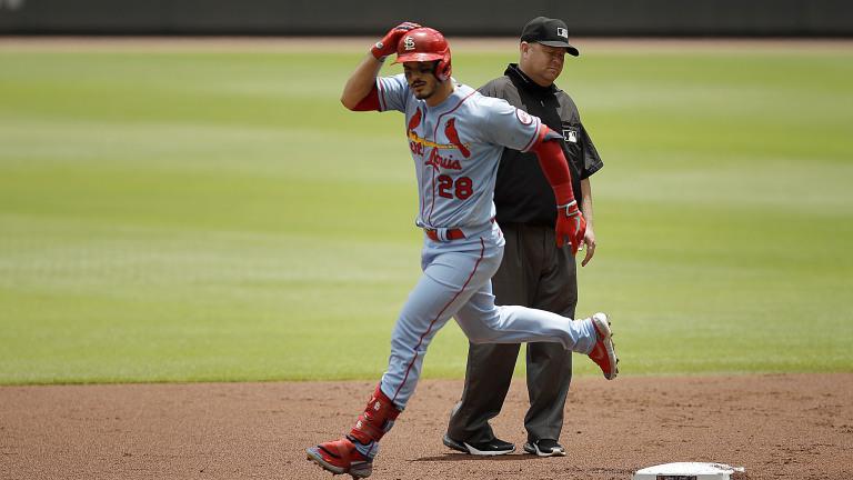 CORRECTION Cardinals Braves Baseball