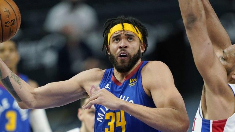 Nuggets Pistons Basketball