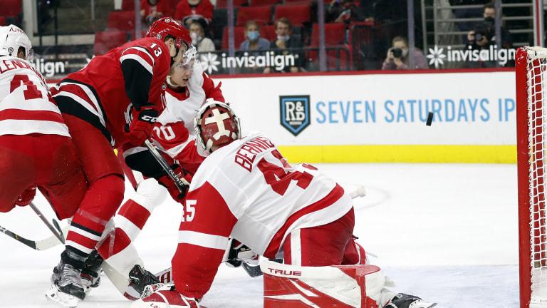 Red Wings Hurricanes Hockey