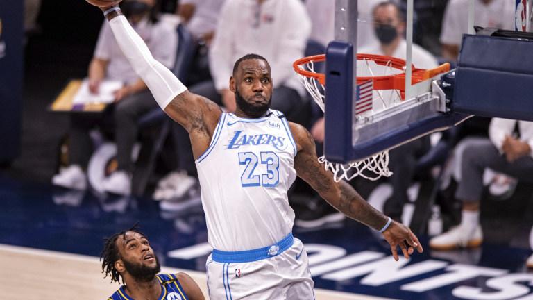 APTOPIX Lakers Pacers Basketball