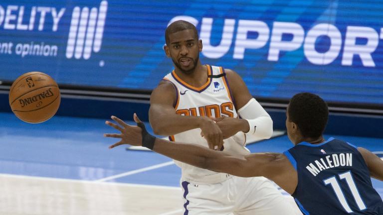 Suns Thunder Basketball
