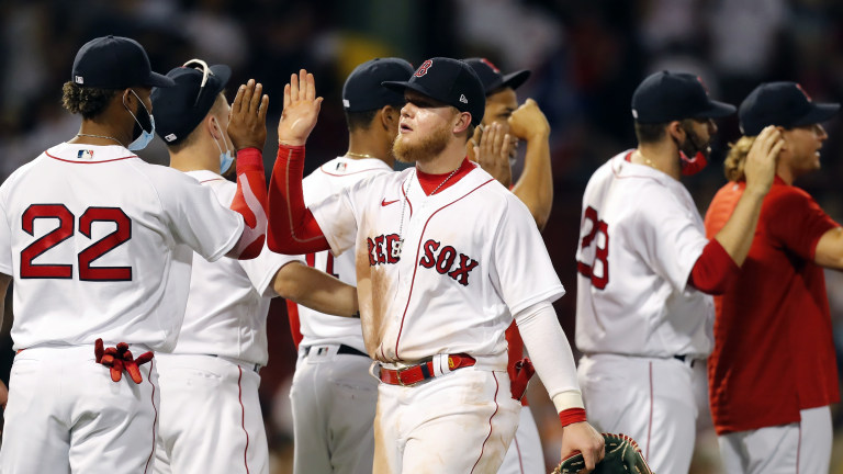 Marlins Red Sox Baseball