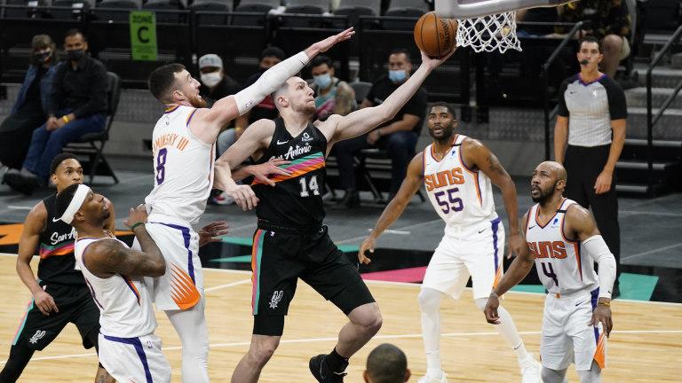 Drew Eubanks - San Antonio Spurs vs. Phoenix Suns