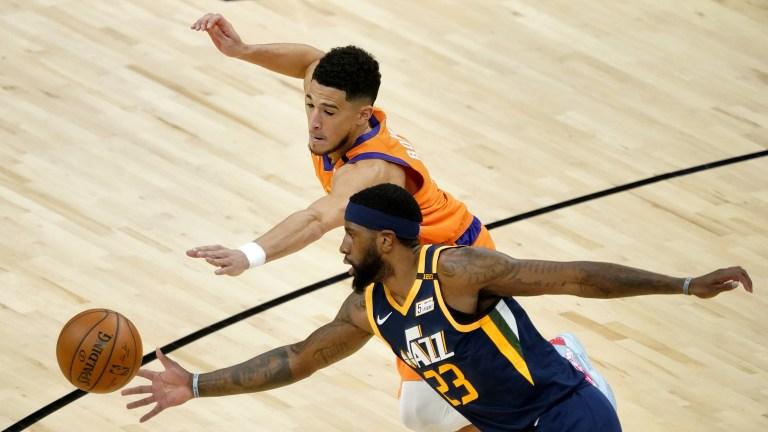 APTOPIX Jazz Suns Basketball