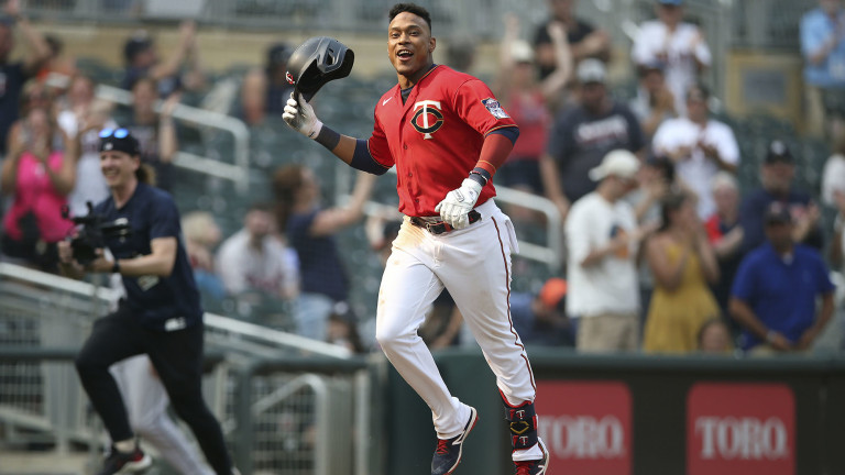 Sunday, July 11: Jorge Polanco mashed his first career walk-off home run to help Minnesota complete a four-game sweep over the Detroit Tigers.