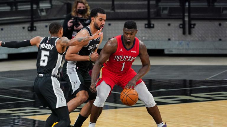 Zion Williamson - New Orleans Pelicans at San Antonio Spurs