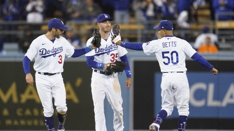 NLDS Giants Dodgers Baseball