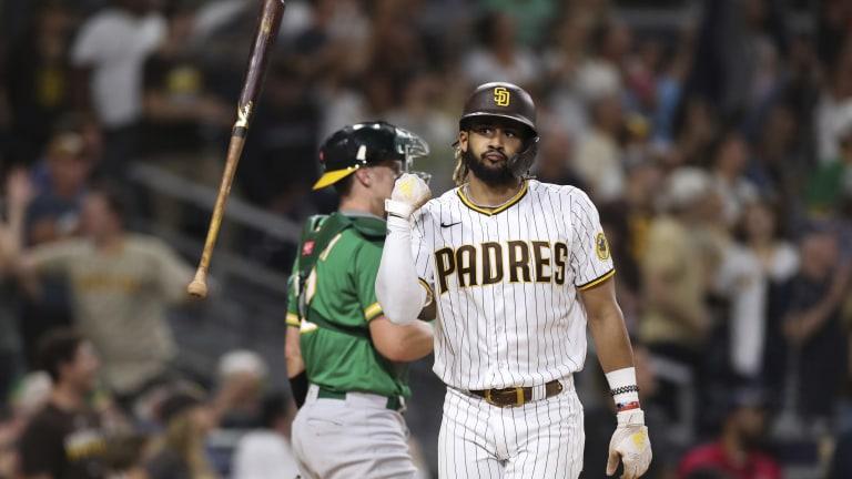 Athletics Padres Baseball