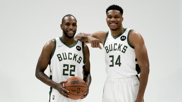 Bucks Media Day Basketball