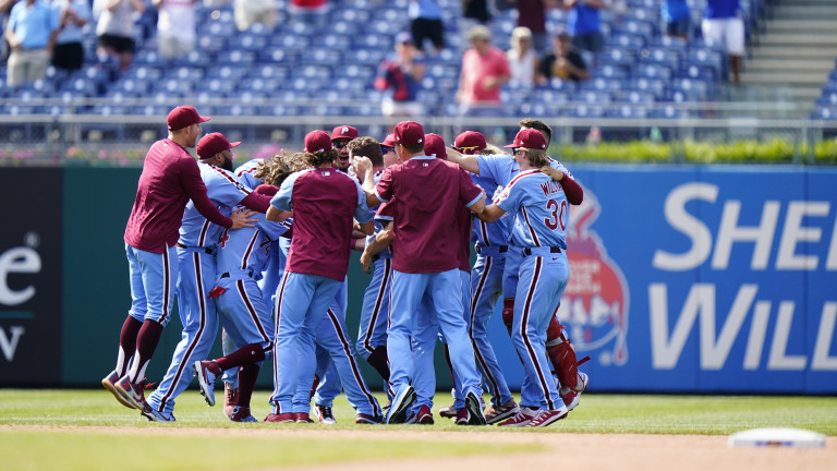 Braves Phillies Baseball
