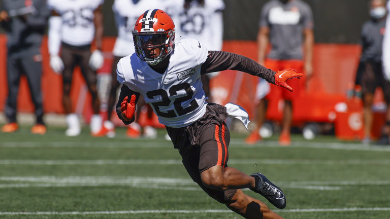 Browns Delpit Football