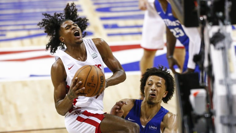 Pistons Rockets Basketball