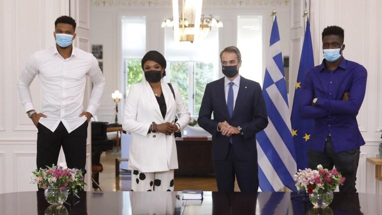 Greece NBA Antetokounmpo Family