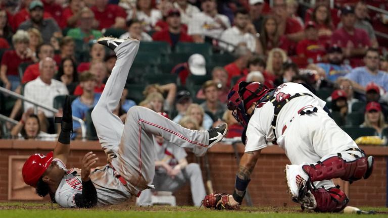 APTOPIX Reds Cardinals Baseball