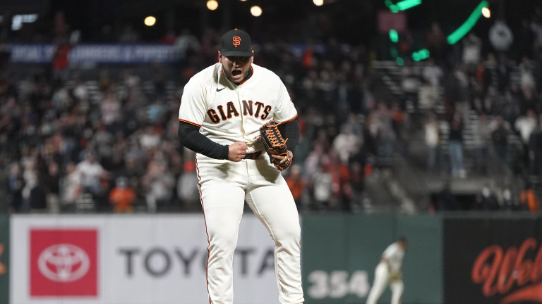 Padres Giants Baseball