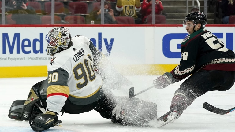Golden Knights Coyotes Hockey