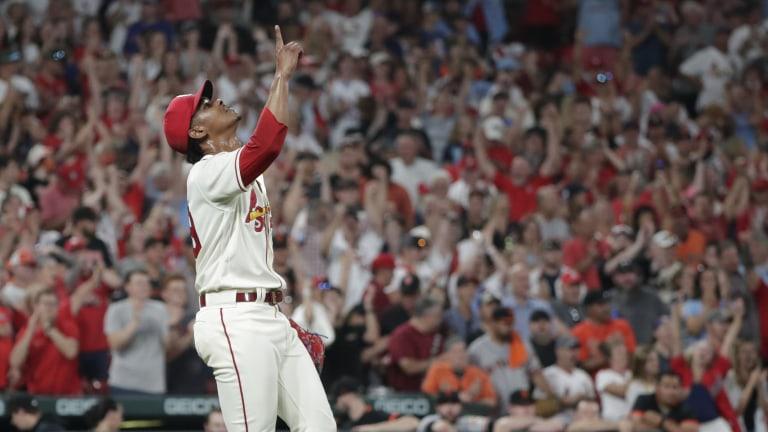 Giants Cardinals Baseball