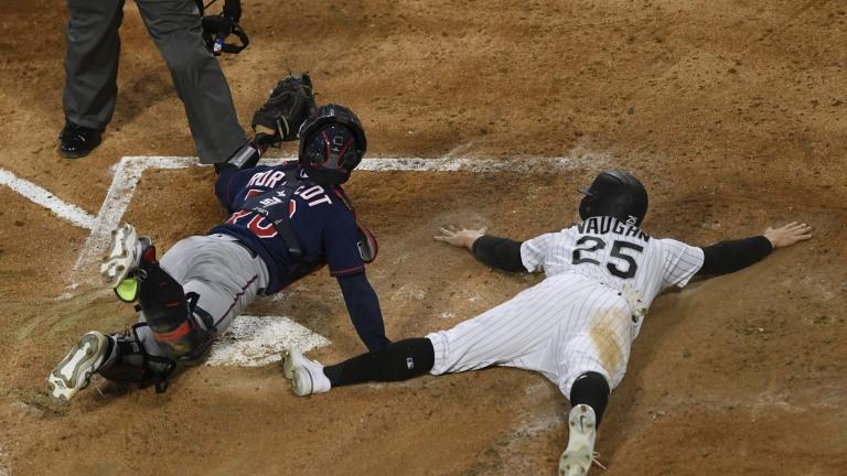 Twins White Sox Baseball