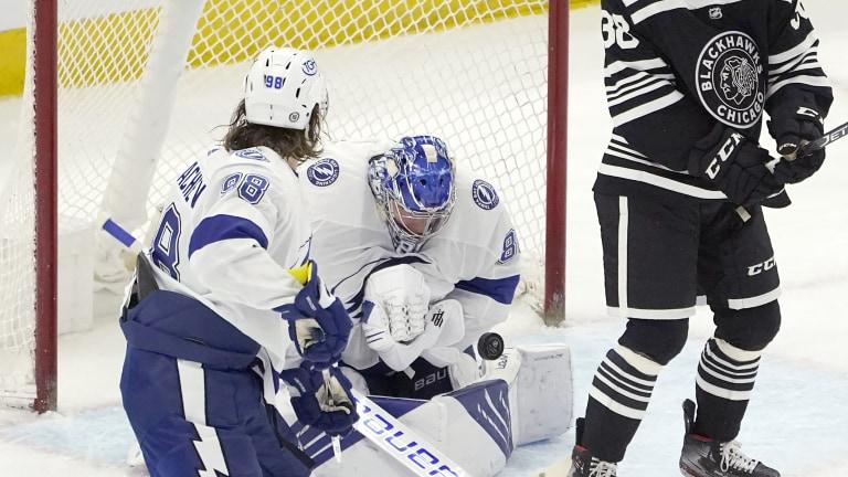 Lightning Blackhawks Hockey