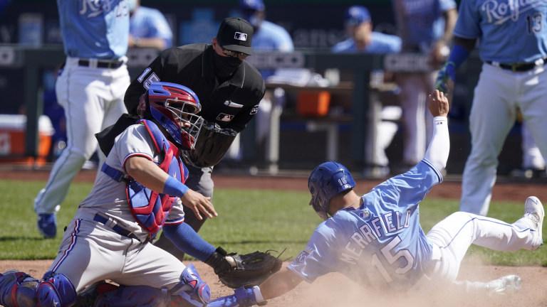Rangers Royals Baseball