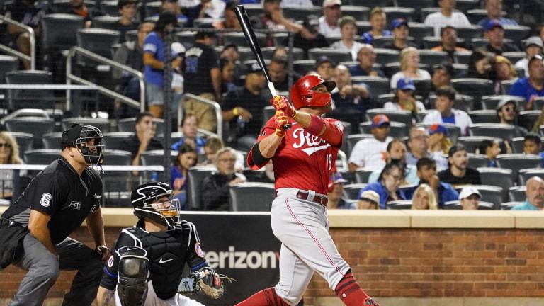 Reds Mets Baseball