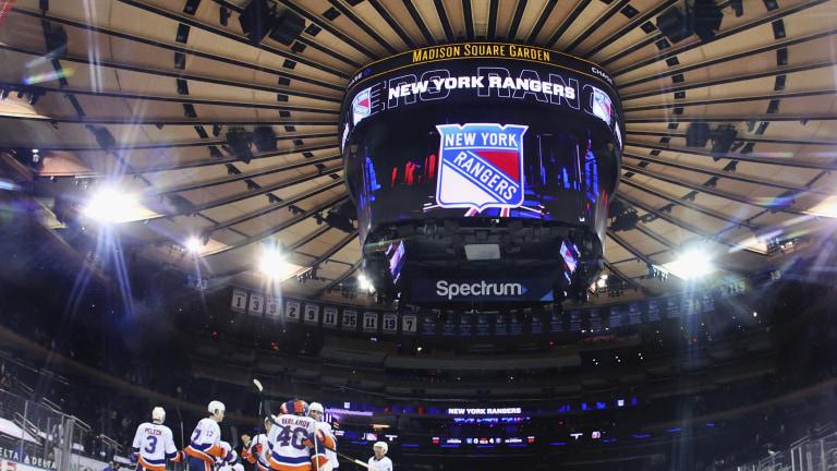 Islanders Rangers Hockey