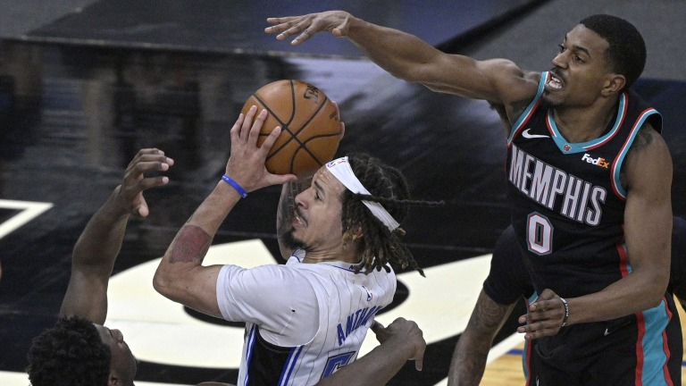 Grizzlies Magic Basketball