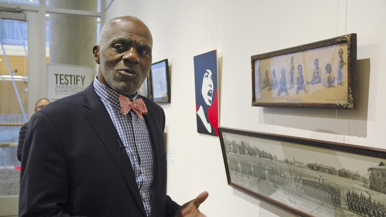 Alan Page-Art Collector